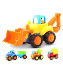 100 Construction Trucks Fastdeal Friction Powered Vehicles Toys Set Of 4 Play For Kids Multicolor