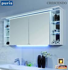puris crescendo led spiegelschrank 140 cm s2a431426r