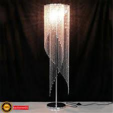 Ore International 6866g Floor Lamp Polished Brass by Crystal Modern Floor Lamps Ebay