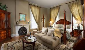The Carriage House at a historic bed & breakfast in Savannah GA