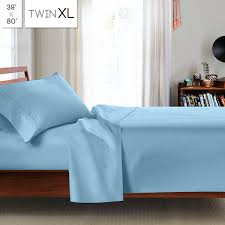 Twin Xl Fitted Sheets For Adjustable Bed by Clara Clark 1800 Series Premier Deep Pocket Bed Sheet Set Cozy Array