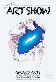 WinterArtShow Poster Vr13 Copy Design