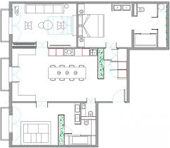 Superb Design Of The Simple Floor Plans With Bedroom Added Living Room And Dining