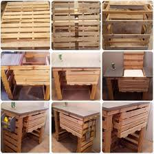 Grill Stand Wood Pallet Furniture