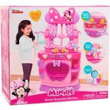 Dora Kitchen Play Set Walmart by Disney U0027s Minnie Mouse Bow Tique Sweet Surprises Play Kitchen And