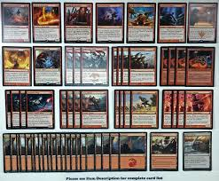Mtg Enchantment Deck 2015 by Mtg Red Heroic Prowess Deck Magic The Gathering Rare Cards Kari