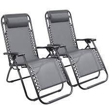 Devoko Patio Zero Gravity Chair Outdoor Folding Adjustable Reclining Chairs  Pool Side Using Lawn Lounge Chair With Pillow Set Of 2 (Grey) Kawachi Foldable Recliner Chair Amazoncom Lq Folding Chairoutdoor Recling Gardeon Outdoor Portable Black Billyoh And Armchair Blue Zero Gravity Patio Chaise Lounge Chairs Pool Beach Modern Fniture Lweight 2 Pcs Rattan Wicker Armrest With Lovinland Camping Recliners Deck Natural Environmental Umbrella Cup Holder Free Life 2in1 Sleeping Loung Ikea Applaro Brown Stained
