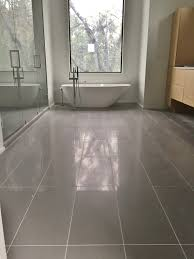 Bathroom Remodel Charleston Sc by 12x24 Porcelain Tile On Master Bathroom Floor Tile Jobs We U0027ve