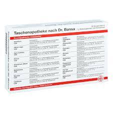 Dhu Taschenapotheke Doktor Bansa 1stk PZN 07153623 EBay