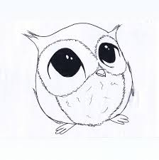 28 Collection Of Cute Owl Drawing Ideas