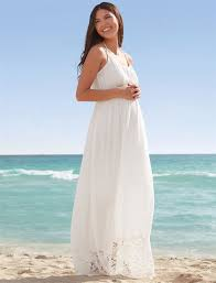 lace hem maternity maxi dress destination maternity