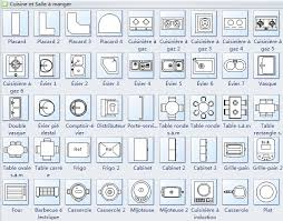 symbole cuisine symboles du logiciel de conception de cuisine floor plans