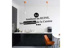 sticker cuisine cuisine ici tombent en ruine les merveilles de la cuisine