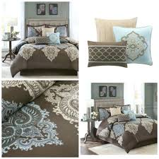 King Size Bed Comforters by Duvet Covers Brown And Blue U2013 De Arrest Me