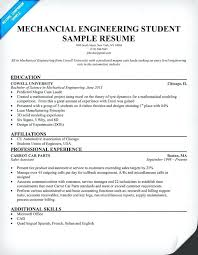 Resume Formats For Engineering Students Fresher