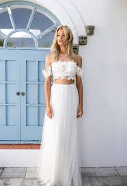 43 best super stylish two piece wedding dresses images on