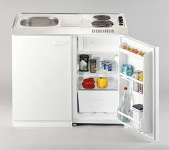 respekta pantry 100 s 100x60cm miniküche mit kühlschrank weiß