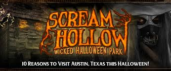 Halloween Theme Park Texas by Haunted House In Austin Texas Scream Hollow Wicked Halloween Park