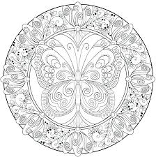 Detailed Mandala Coloring Pages Printable Advanced Free Intricate