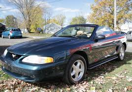 27K Mile 1994 Ford Mustang GT Convertible 5 Speed for sale on BaT