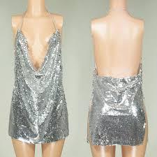 online get cheap v neck halter sequin dress aliexpress com