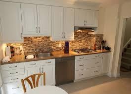 kitchen backsplash ideas with white cabinets white open kitchen