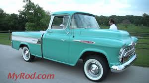 1957 Cameo Pickup - MyRod.com - YouTube 1957 Chevrolet Cameo Carrier 3124 Halfton Pickup Chevrolet Cameo Streetside Classics The Nations Trusted 1955 Pickup Truck Stock Photo 20937775 Alamy Rare And Original Carrier Pickup Sells For 1400 At Lambrecht Che 1956 3100 Volo Auto Museum 12 Ton Chevy Cameo Gmc Trucks Antique Automobile Club Of Sale 2013036 Hemmings Motor News On The Road Classic Rollections 1958 Start Run External Youtube Chevy Forgotten Truckin Magazine