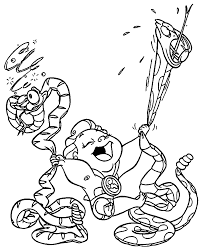 Baby Hercules And Pegasus Coloring Pages