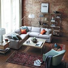 Loft Grey Fabric Corner Sofa
