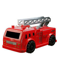 Darling Toys Mini Magic Inductive Fire Truck Follows Black Line ...