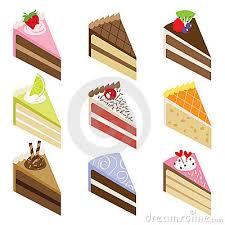 Slice Birthday Cake Stock Illustrations – 1 325 Slice Birthday