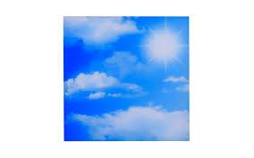 led deckenleuchte cct cloud 59 5 x 59 5 cm