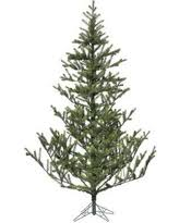 The Holiday Aisle 55 Green Spruce Artificial Christmas Tree With Metal Stand THLY8637