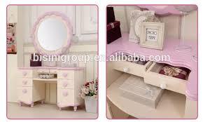 bisini königlichen dubai mädchen rosa schlafzimmer möbel kinder kommode mit wand spiegel luxus kinder holz bett kopfteil bf07 70260 buy kid