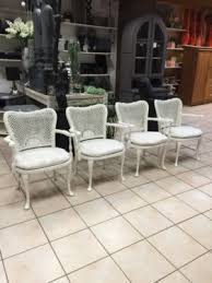 sessel weiss shabby chic wie chippendale lieferservice in