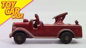 100 Tootsie Toy Fire Truck Toy 1930 Engine Pumper Car Case