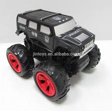 100 Big Monster Truck 116 Scale Friction Police Hammer With