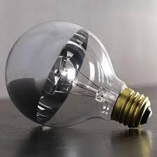chrome light bulb west elm