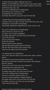 Bed Of Lies Matchbox 20 by Kid Rock Foad Off And Die Lyrics Yes Please Do That