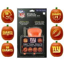 Steelers Pumpkin Carving Stencils Free by New York Giants Pumpkin Carving Kit Nflshop Com