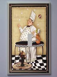 Fat French Chef Kitchen Curtains by Kitchen Chef Theme Kitchen Design Photos Decorating Theme