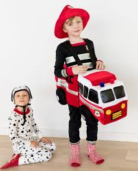 Wearable 3D Firefighter Truck