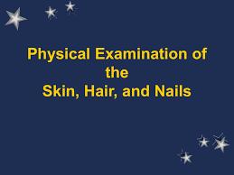 Wood Lamp Examination Diagnosis by Physical Examination Of The Skin Hair And Nails
