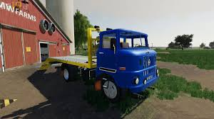 100 Tow Truck Simulator IFAW50 FS19 Mods Farming 19 Mods