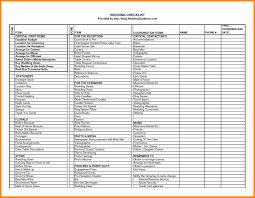 Planning Checklist Template Wedding Printable Budget Spreadsheet Unique 2017 Creative Ideas