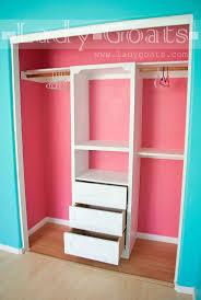 Best 25 Girls closet organization ideas on Pinterest