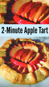Two Minute Rustic Apple Tart