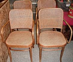 Thonet Bentwood Chair Cane Seat by Rush Danish Cord Portsmouth Nh New England Porch Rockers