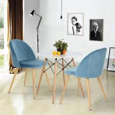 Dining Chairs, Set Of 2 Soft Seat And Back Kitchen Chairs With Wooden Style  Sturdy Metal Legs Velvet Chairs For Dining And Living Room Chairs, Blue Modern Ding Room And Kitchen Interior With White Marble Table Eight Chairs In A Loftstyle Farmhouse Ding Room Diy Shiplap Kitchen Mesas De Small 14 Ways To Make It Work Doubleduty Bob Vila Toaster Vintage Costway 5 Piece Set Glass Metal Table 4 Chairs Breakfast Fniture Poly Bark Vortex Chair Walnut Legs Of Fixer Upper Style Rustic Italian Refresh House Becomes Home Interiors Sobuy Fst59 Hg Office 2pieces Lot European Gold Stool Leg Stainless Steel Round Duhome Elegant Lifestyle Velvet Pink Vanity Accent Upholstered Makeup Plating For