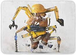 bad matte gürtel collage building tools ausrüstung wie bau